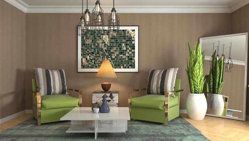 Welche Farbe soll das neue Wohnzimmer bekommen? Diese Frage lässt sich nicht ganz einfach beantworten, denn sie muss im Zusammenhang mit den Möbeln und der Nutzung des Raumes gesehen werden.