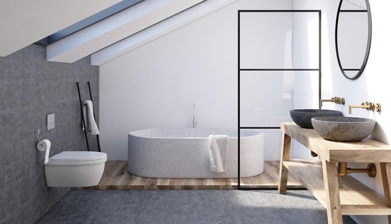 Wer viel Platz zur Gestaltung besitzt, hat es natürlich einfacher als jemand, der nur über ein sehr kleines Badezimmer verfügt.