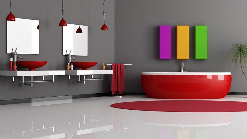 Es fällt auf, dass viele Vorschläge zur Badezimmergestaltung heute ohne die althergebrachte Fuge auskommen. Das hat sowohl gestalterische als auch praktische Gründe.