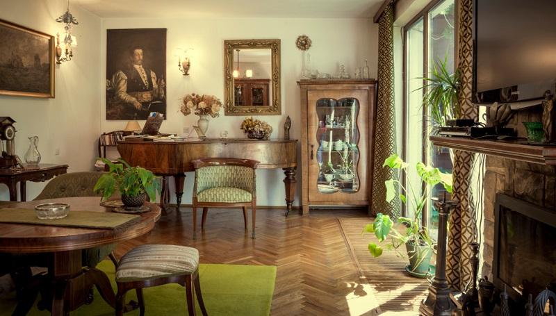 Die Biedermeier Epoche brachte auch ihren eigenen Architekturstil mit sich.