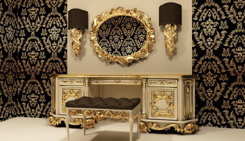 Die Zeit des Barock beginnt ungefähr um 1575, als erste Sofas und Kommoden auftragen, dazu Pfeilerspiegel und Anrichten. Die typisch gekrümmten Linien, umfassenden Vergoldungen und Schnitzereien sind typisch für den Barock