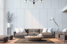 Wandfarbe Grau kombinieren: Grautöne geschickt kombinieren