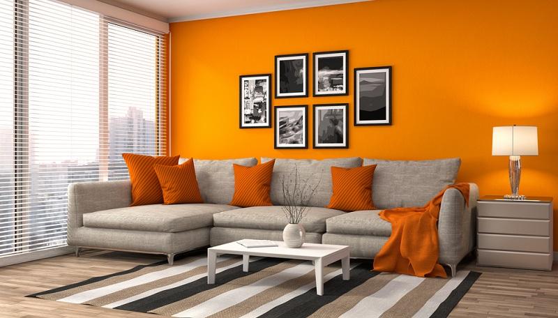 Orange ist eine Trendfarbe, die immer wieder ihre Hochs und Tiefs hat.