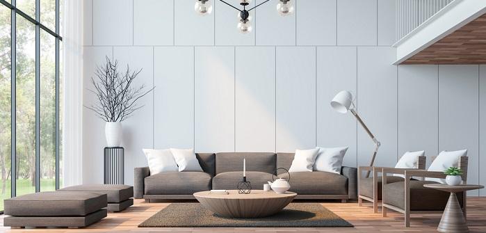 Wandfarbe Grau Kombinieren Grautone Geschickt Kombinieren