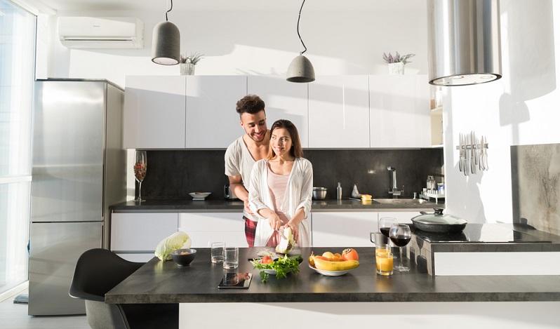 Ein weiteres Indiz für die Bedeutung der Küche ist die Höhe der Ausgabe, die die Bewohner für die Einrichtung auf sich nehmen.