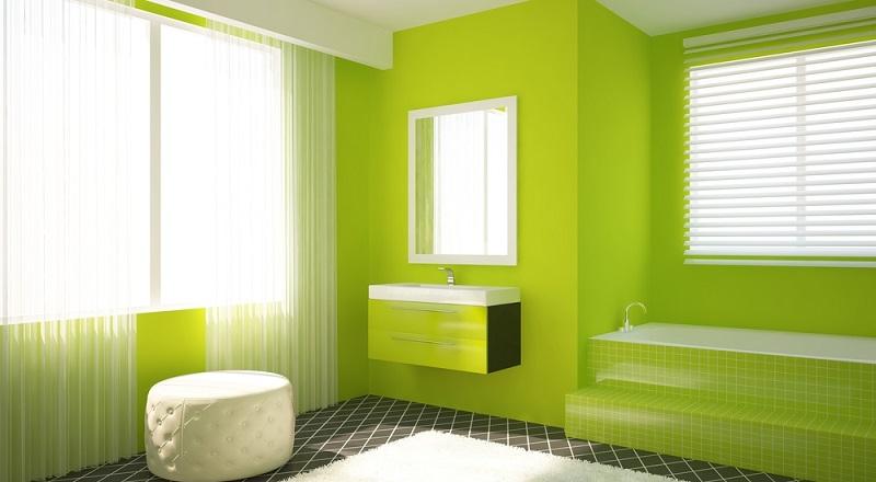 Die Farbe Grün ist bekannt für ihre beruhigende, ausgleichende Wirkung. In diesem Fall wirkt das frische Grün jedoch auch gleichzeitig vitalisierend und sorgt dafür, mit Schwung in den Tag zu starten.