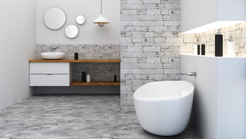Fans minimalistischer Einrichtungen werden davon begeistert sein, schöne Bäder im Loft-Stil einzurichten.