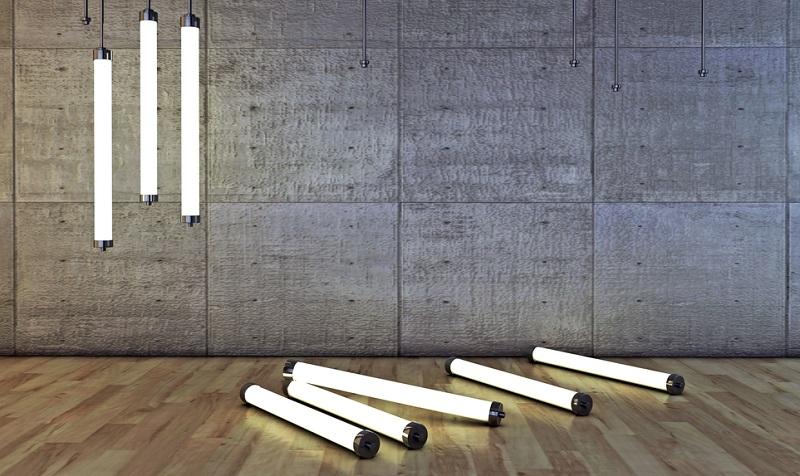 Leuchtstofflampen haben eine ungefähre Lebensdauer von 18 Jahren.