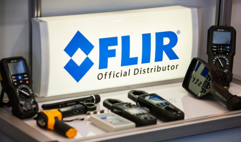 Besonders der FLIR TG165 Wärmebild-IR-Pyrometer überzeugt mit einem Messbereich von bis zu 380 Grad.