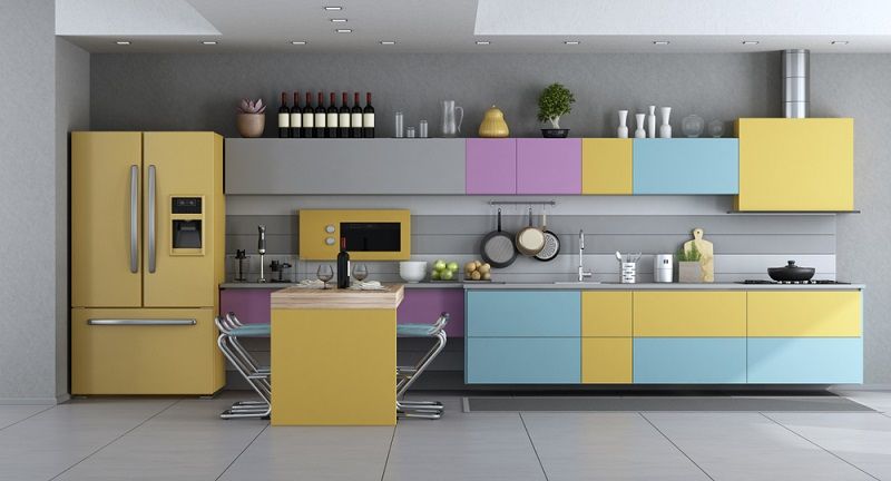 Ob nach dem Umzug in eine neue Wohnung oder beim Bezug des eigenen Hauses: Sie müssen Küche kaufen. Die Preise dafür bewegen sich zwischen wenigen Hundert und vielen Tausend Euro. (Fotolizenz- archideaphoto_)