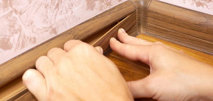 Bodenleisten kleben: Ultimative Tipps im Ratgeber (Foto: Shutterstock - _fukume)