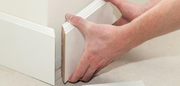 Fußbodenleisten kleben: Entdecken Sie die Möglichkeiten (Foto-Shutterstock: Photographee.eu )