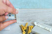 Sockelleisten befestigen mit Clips: So geht es sogar noch leichter (Foto-Shutterstock: Spok83_)