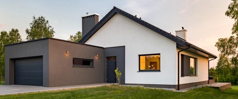 Wird die Garage mit dem Haus verbunden, ist dies kostengünstiger  ( Foto: Shutterstock- Dariusz Jarzabek)