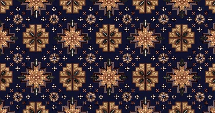 Truntum als batik-Motiv steht für die Begriffe friedlich und führen. (Foto: shutterstock - Kayasni)