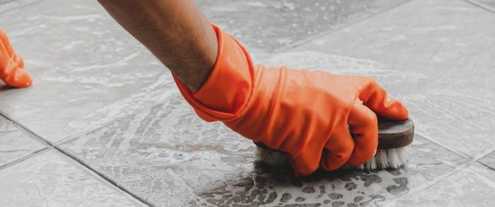 Es klingt sicher ungewöhnlich, wenn man als ideales Werkzeug zur Reinigung der Gartenmuschel eine Zahnbürste empfiehlt. Eine weiche Bürste tut es auch, wichtig ist, dass Sie keine harte Bürste nehmen, welche nur die Oberfläche des Geflechts angreifen würde. (Foto: shutterstock: Etaphop photo)