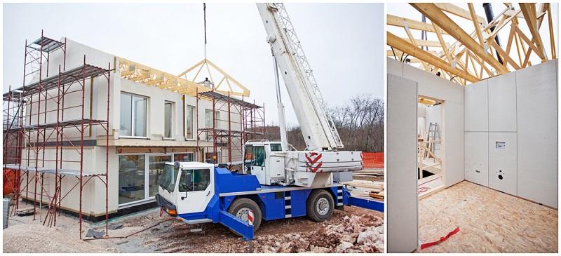 Bei einem Haus wird immer erst der Rohbau erstellt, danach kommt der Innenausbau. ( Foto: Shutterstock- JRP Studio)