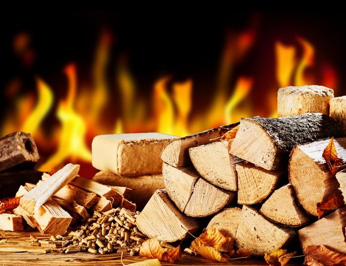 Achten Sie bei der Auswahl von Brennmaterial für Ihren Kaminofen auf Rückstandsfreiheit von Schadstoffen und auf die Restfeuchte. (Foto: shutterstock - stockcreations)