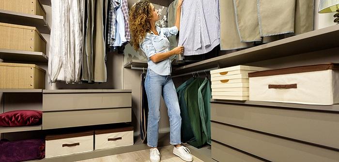 Ankleidezimmer planen: Von Dachschräge bis Steckdosen. 1001 Dinge, die Dich nerven werden, wenn Du sie nicht beachtet hast ( Foto: Shutterstock-_Photology1971 )