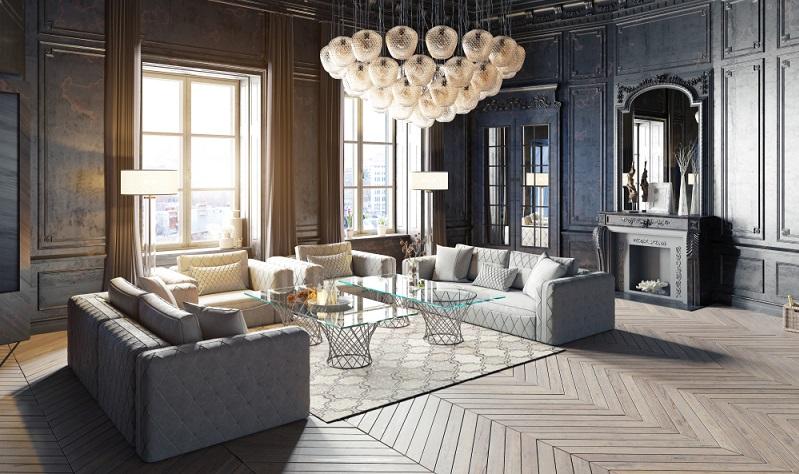Perfekte Wohnzimmer Beleuchtung Ideen gesucht? Dann kommt hier das ideale Design für alle, die es ein wenig exklusiver mögen. (Foto: Shutterstock)