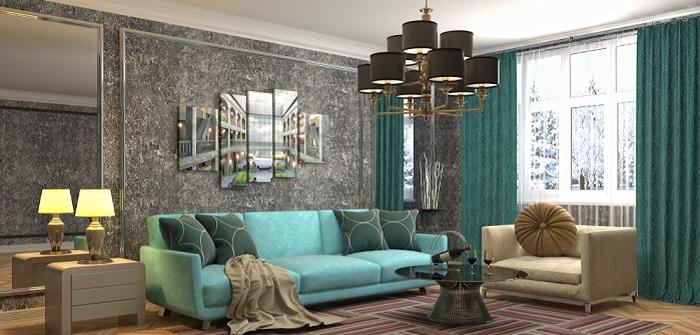Wohnzimmer Beleuchtung: 11 Ideen für exklusive Beleuchtungskonzepte im wichtigsten Wohlfühlraum des Hauses (Foto: Shutterstock- Interior Design )
