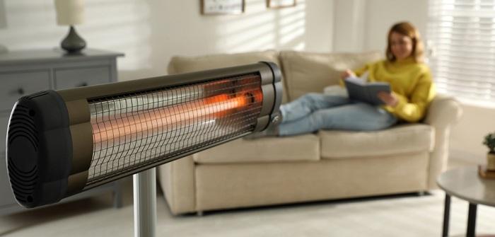 Infrarot Heizstrahler: Elektrisch betrieben für gemütliche Strahlungswärme innen & außen ( Foto: Shutterstock-_New Africa )