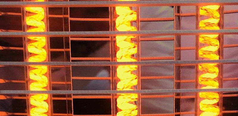 Die Heizleistung und Konstellation an Infrarot Heizstrahlern, die Sie brauchen werden, wenn Sie auf der Terrasse sitzen, hängt von verschiedenen Faktoren ab. ( Foto: VASNER )