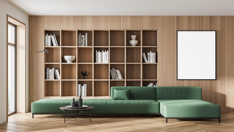 Bücher müssen nicht in der Versenkung sein, schön platziert lassen sie sich nicht nur als Deko verwenden. ( Foto: Shutterstock-  ImageFlow _)