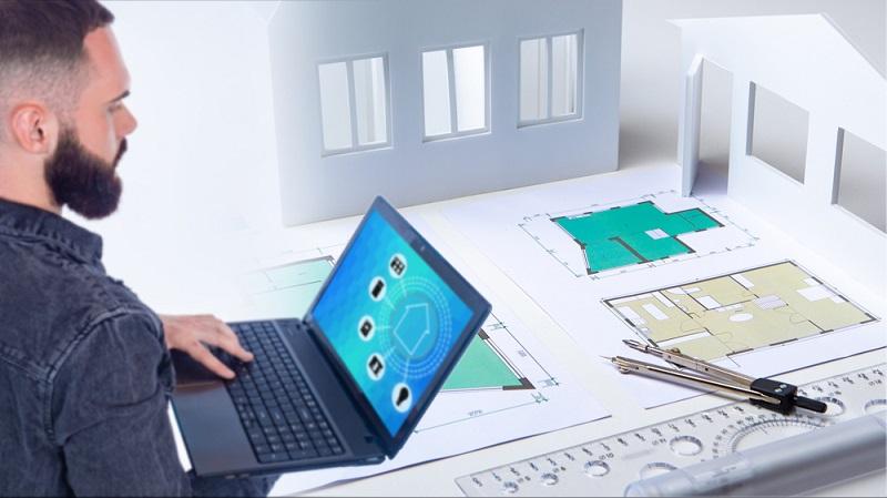 Der Fachmann sollte die Planung übernehmen, damit später auch alles funktioniert. ( Foto: Shutterstock-_FOTOGRIN )