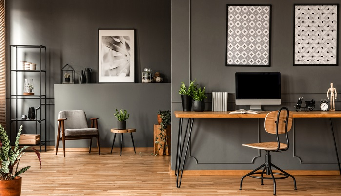 Bürostühle deutscher Hersteller dieser klare puristische Stuhl ist ein Beispiel ( Foto: Shutterstock- Photographee.eu )_